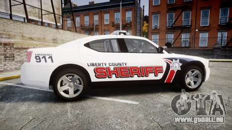 Dodge Charger 2010 LC Sheriff [ELS] für GTA 4 linke Ansicht