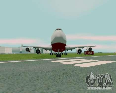 FlyUS pour GTA San Andreas vue de droite