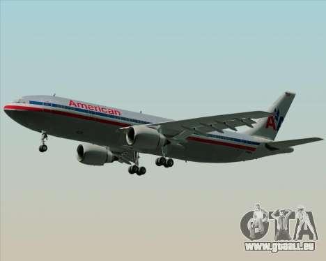 Airbus A300-600 American Airlines pour GTA San Andreas vue de côté