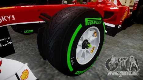 Ferrari F138 v2.0 [RIV] Alonso TIW für GTA 4 Rückansicht