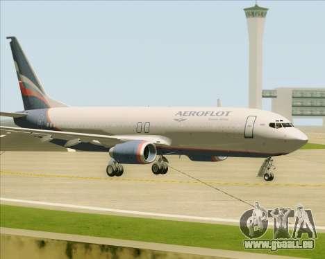 Boeing 737-8LJ Aeroflot - Russian Airlines pour GTA San Andreas vue intérieure