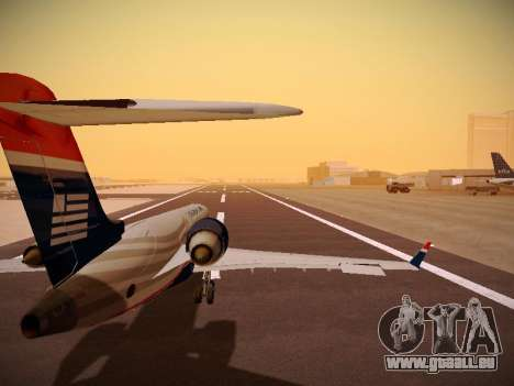 Bombardier CRJ-700 US Airways Express für GTA San Andreas