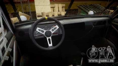 Kessler Stowaway Hans pour GTA 4 Vue arrière
