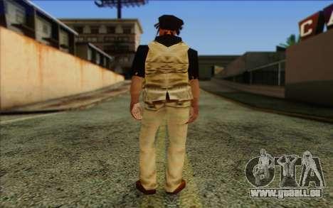 Yardies from GTA Vice City Skin 2 für GTA San Andreas zweiten Screenshot