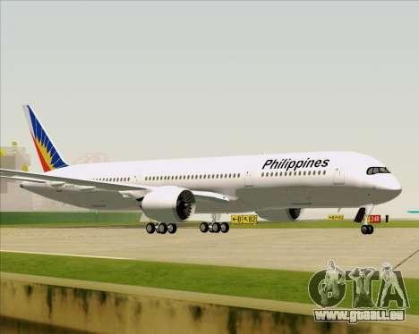 Airbus A350-900 Philippine Airlines für GTA San Andreas Seitenansicht
