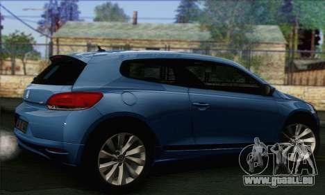 Volkswagen Scirocco 2011 pour GTA San Andreas laissé vue