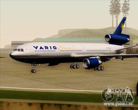 McDonnell Douglas DC-10-30 VARIG für GTA San Andreas linke Ansicht