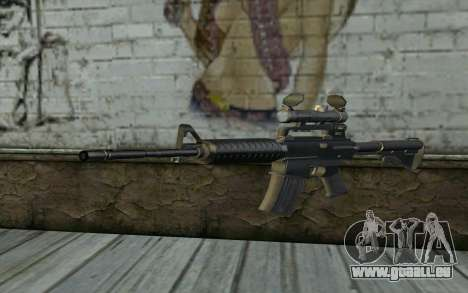 M4 from Hitman 2 pour GTA San Andreas