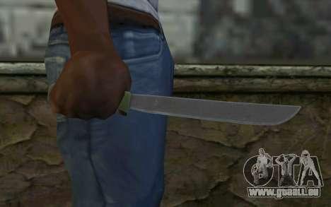 Machete (DayZ Standalone) v1 für GTA San Andreas dritten Screenshot