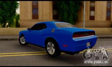 Dodge Challenger SXT Plus 2013 für GTA San Andreas linke Ansicht