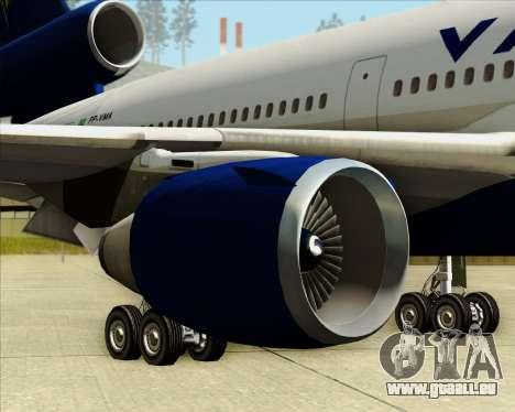 McDonnell Douglas DC-10-30 VARIG für GTA San Andreas Räder