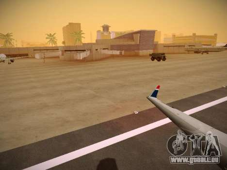 Bombardier CRJ-700 US Airways Express pour GTA San Andreas moteur