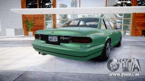 GTA V Vapid Stanier pour GTA 4 Vue arrière de la gauche