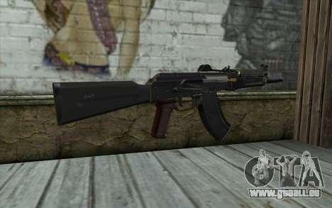 Moderne de l'AKS-74U pour GTA San Andreas deuxième écran