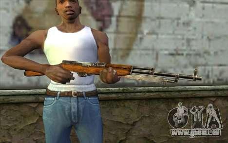 СКС (Battlefield: Vietnam) für GTA San Andreas dritten Screenshot