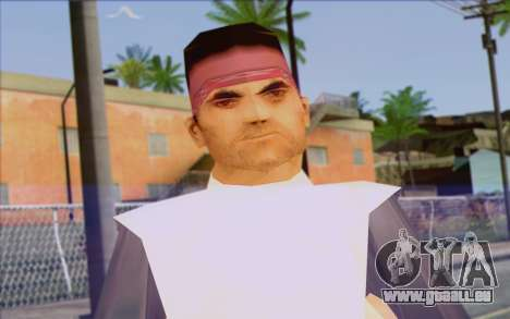 Cuban from GTA Vice City Skin 2 pour GTA San Andreas troisième écran