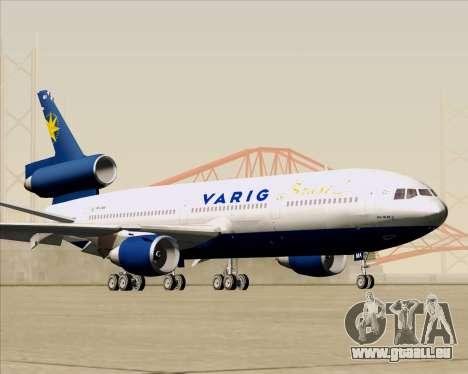 McDonnell Douglas DC-10-30 VARIG für GTA San Andreas Innenansicht