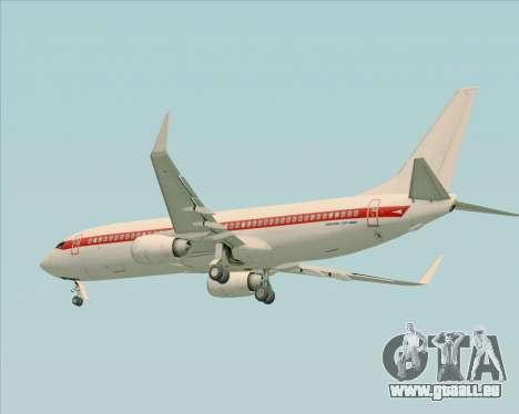 Boeing 737-800 EG&G - Janet für GTA San Andreas rechten Ansicht