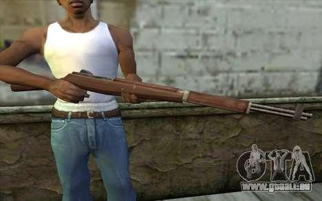 M1 Garand from Day of Defeat pour GTA San Andreas troisième écran