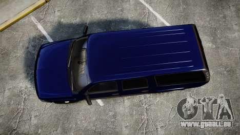 Chevrolet Suburban Undercover 2003 Grey Rims pour GTA 4 est un droit