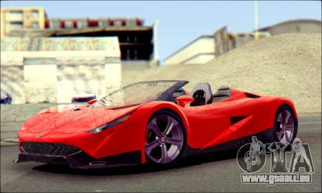Specter Roadster 2013 pour GTA San Andreas