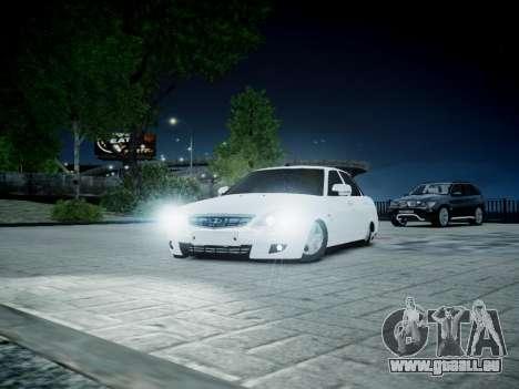 VAZ 2170 für GTA 4 Innenansicht