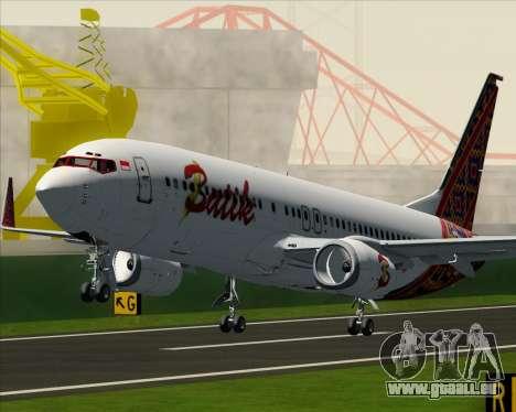 Boeing 737-800 Batik Air für GTA San Andreas Räder