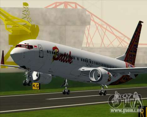 Boeing 737-800 Batik Air pour GTA San Andreas roue