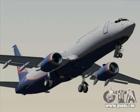 Boeing 737-8LJ Aeroflot - Russian Airlines pour GTA San Andreas moteur