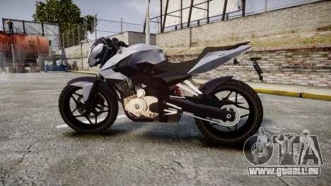 Bajaj Pulsar 200NS 2012 für GTA 4 linke Ansicht