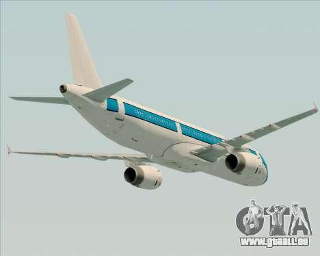 Airbus A321-200 American Pacific Airways für GTA San Andreas Räder
