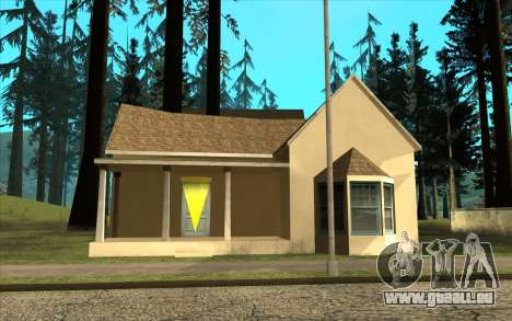 Nouveau CJ maison à Angel Pine pour GTA San Andreas troisième écran