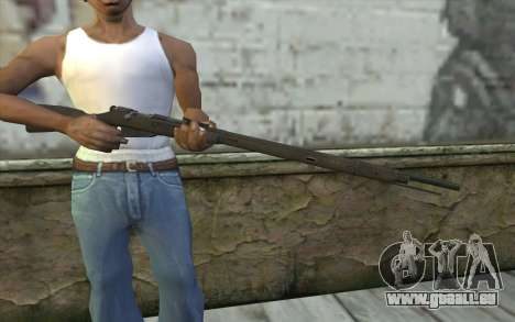Mosin-v2 pour GTA San Andreas troisième écran