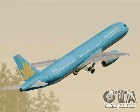 Airbus A321-200 Vietnam Airlines für GTA San Andreas