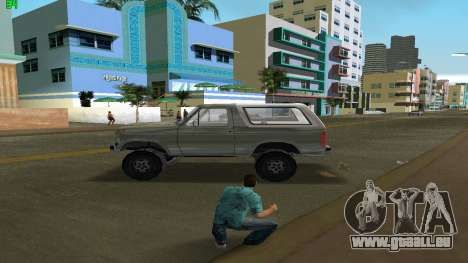 Ford Bronco 1985 für GTA Vice City linke Ansicht