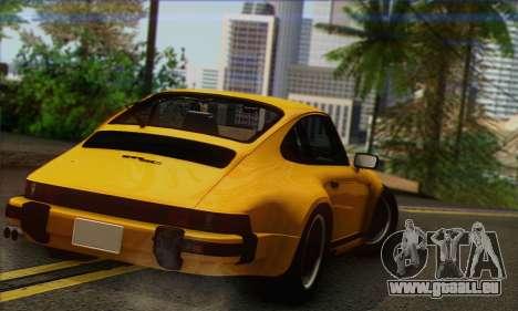 Porsche 930 Turbo Look 1985 Tunable für GTA San Andreas linke Ansicht