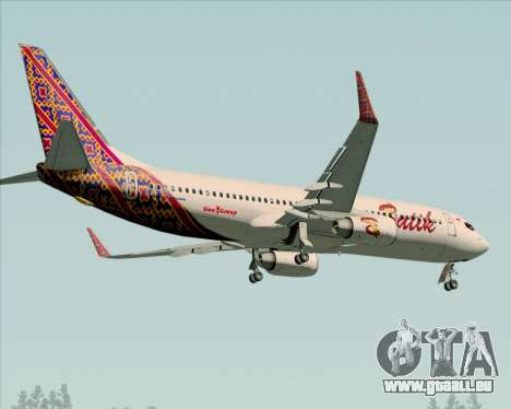 Boeing 737-800 Batik Air für GTA San Andreas Seitenansicht