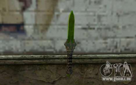 Glass Dagger pour GTA San Andreas