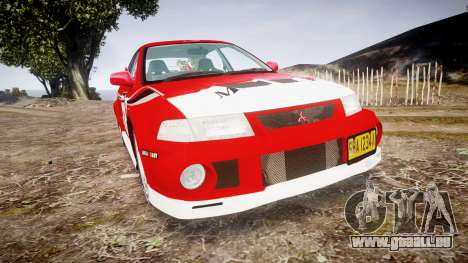 Mitsubishi Lancer Evolution VI Rally Marlboro pour GTA 4