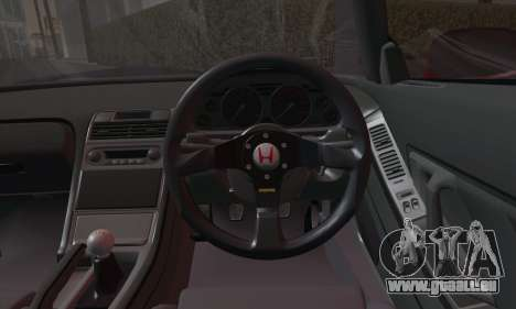 Honda NSX 2005 für GTA San Andreas Rückansicht