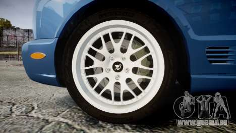 Bentley Arnage T 2005 Rims2 Chrome für GTA 4 Rückansicht