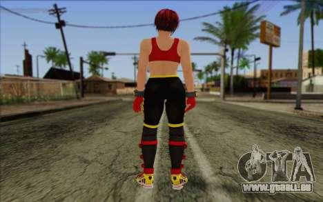 Mila 2Wave from Dead or Alive v7 pour GTA San Andreas deuxième écran