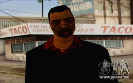 Yakuza from GTA Vice City Skin 1 pour GTA San Andreas troisième écran