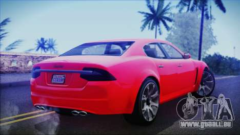 Lampadati Felon für GTA San Andreas linke Ansicht