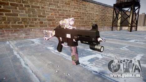 Pistolet UMP45 Kawaii pour GTA 4