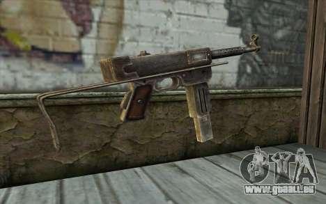 MAT-49 from Battlefield: Vietnam für GTA San Andreas zweiten Screenshot