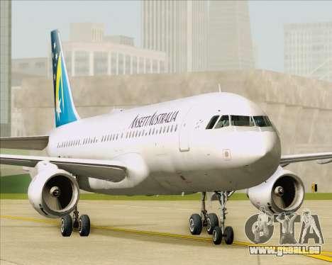 Airbus A320-200 Ansett Australia pour GTA San Andreas vue intérieure