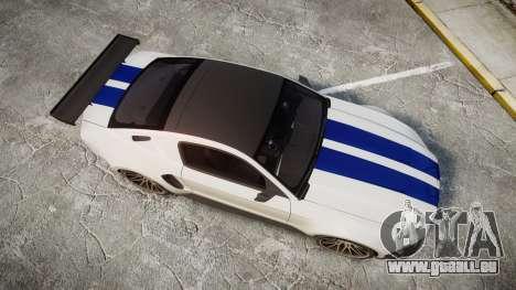 Ford Mustang GT 2014 Custom Kit PJ2 pour GTA 4 est un droit