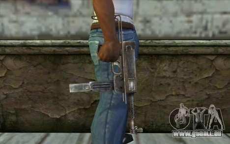 MAT-49 from Battlefield: Vietnam pour GTA San Andreas troisième écran