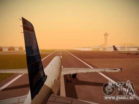 Airbus A321-232 jetBlue Do-be-do-be-blue pour GTA San Andreas roue